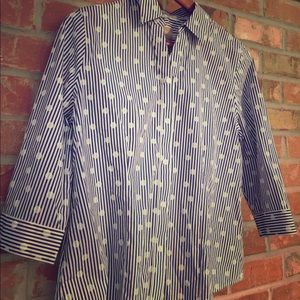 Chico's button up blouse